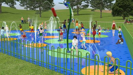 A new £230,000 splashpad to be built later this year in Haverhill town
