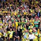 Norwich City V Ipswich Town derby play-off at Carrow Road. Picture: DENISE BRADLEY