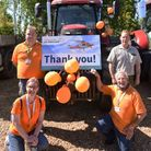 Fenland Farmers'tractor run in aid of the Magpas Air Ambulance charity was a huge success.