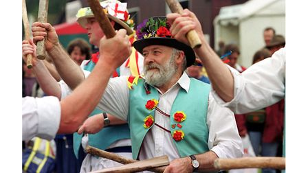 Morris Dancing at the Suffolk Show in 2002