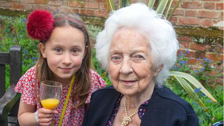Bette Nuttall, celebrated her 100th birthday last month surrounded by family