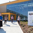 The Mildenhall Hub welcomed it's first visitors today as part of the phased opening