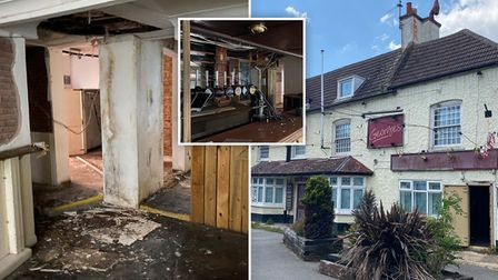 Infamous March pub George's is on the market for £300,000.
