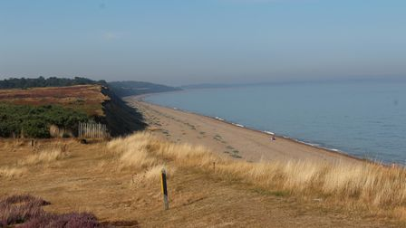 cycle ride dunwich to minsmere