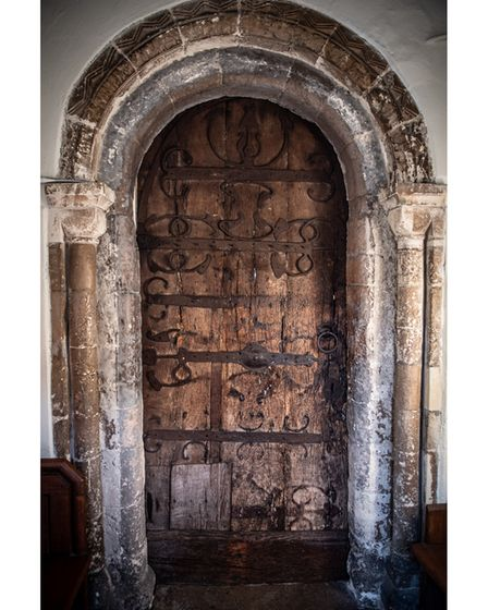 The door is thought to have been used for nearly 1,000 years