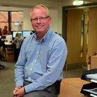 Andrew McTear, partner at McTear, Williams and Wood, at their new premises at Crown Road. Picture: D
