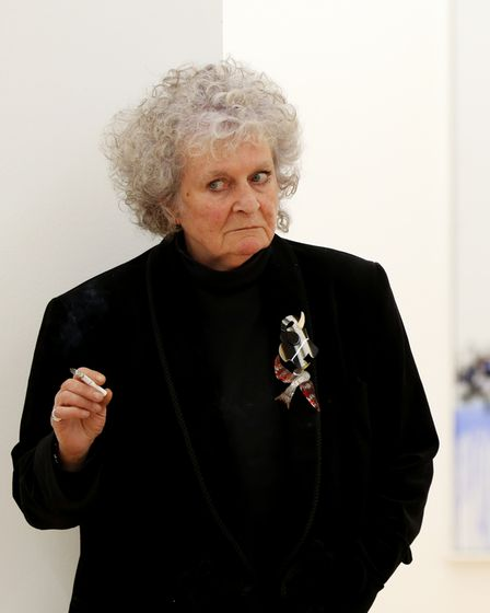 """File photo dated 14/10/20 of British artist Maggi Hambling who has said she was """"surprised"""" by criti"""