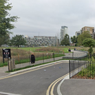 Bartlett Park by the Limehouse Cut where police were called after report of stabbing