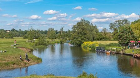 The River Stour at Dedham has been marred by littering in recent summers