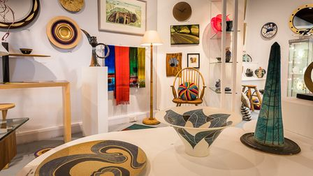A wide range of unique items, handmade by Suffolk craftspeople, are on show at the Suffolk Craft Soc