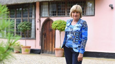 Feature on Suffolk Craft Society chair, Sarah Thane.
