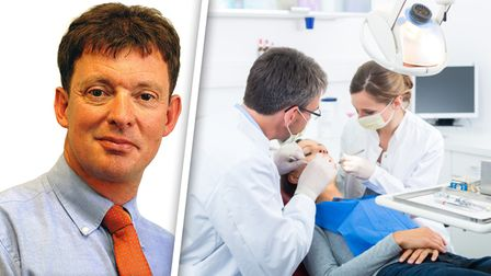 Nick Stolls and dentists
