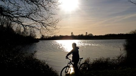 Alton Water is one of the best places to explore on your bike this summer