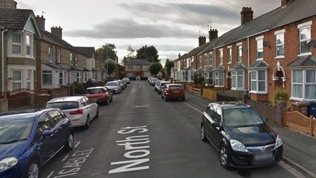 Man hospitalised after assault at a house in North Street,March.