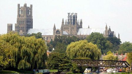 One of Ely's most famous landmarks isEly Cathedral.