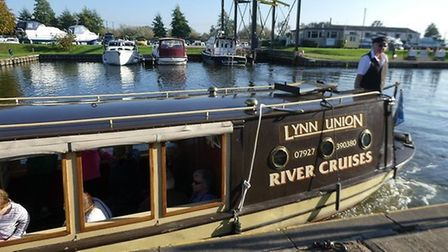 Ely-based Liberty Belle Cruises have reopened post-lockdown. Boatmaster Bob Todd is pictured.