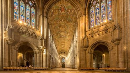 Ely Cathedral nave by Nick Bowman of Ely Photographic Club