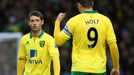 Grant Holt formed a deadly duo with Wes Hoolahan during his time at Carrow Road.