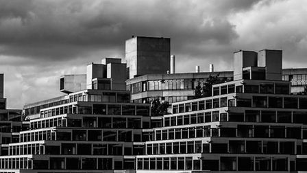 Overall competition winner Nathan Holmes took this photo of the UEA ziggurats.