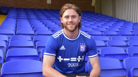 Wes Burns signs for Ipswich Town