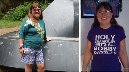 Sharon Hadley has lost nearly 6st with the help of Slimming World.