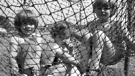 From The Archives WestHaving some fun at The Rougham Tree FairAugust 1978