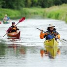 Dereham Canoe Club has celebrated 40 years by taking part in a 40 hour marathon paddle. Picture; Mat