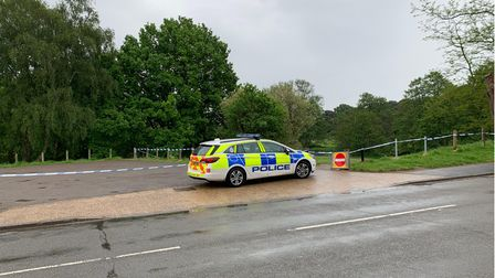 An area of Thetford has been sealed off by police after a 16-year-old girl wassexually assaulted.