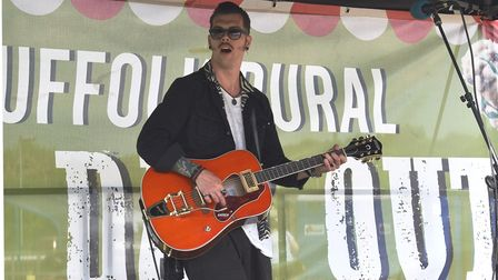Josh Locke at Otley's Big Day Out on June 3