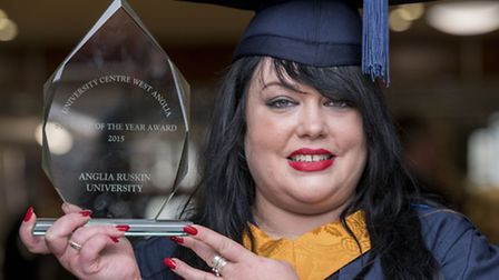 Scenes from the 2015 College of West Anglia graduation ceremony, held at the King's Lynn Corn Exchan