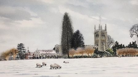 One piece of work that will be on show at the classic arts exhibition at Long Melford