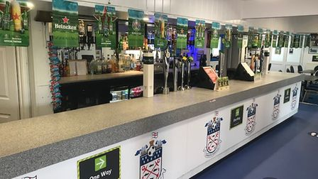 The bar at Exmouth Town