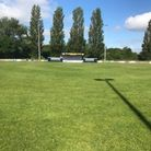 The pitch at Southern Road