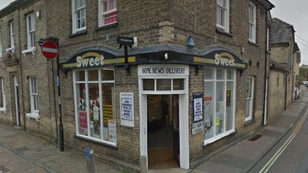 Suffolk police are currently at the Sweet paper shop, All Saints Road, Newmarket following a robbery.