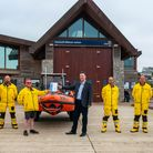 Exmouth RNLI Lifeboat crew