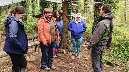 A forest course under way for teachers