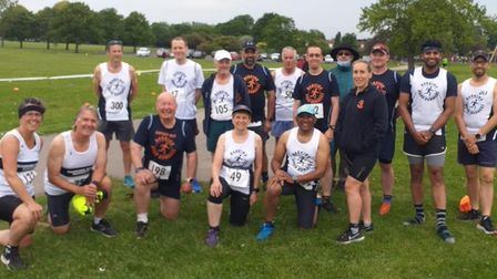 Barking Road Runners at the start of a new ELVIS season