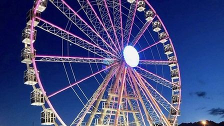 What the new observation wheel could look like at Clacton Pier