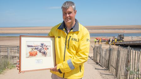 Deputy Second Coxswain Martin Emerson Picture: Sarah Lucy Brown