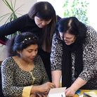 Volunteers at Tower Hamlets Carers Centre in Stepney Green