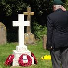 A 100th year commemoration service was held in Exmouth