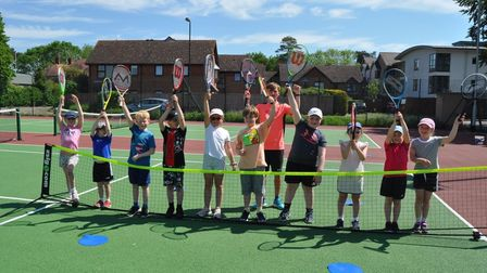 Wednesday 5-9 age group Wisbech Tennis Club