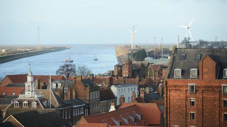 Views of King's Lynn taken from the North Tower of The Minster. Picture: Ian Burt
