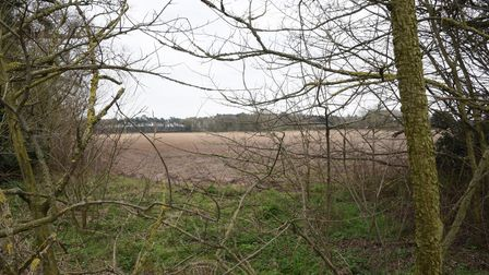 The land at Weeting at the junction with Brandon Road and Harling Drove where a crematorium could be