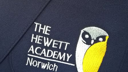 The new uniform for The Hewett Academy, Norwich