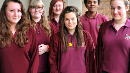 Pupils wearing the current school uniform (picture taken a whole ago) Photo: Bill Smith