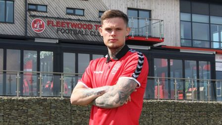 Harry Wright has signed for Fleetwood Town