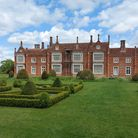 The beautiful gardens at Helmingham Hall in Suffolk