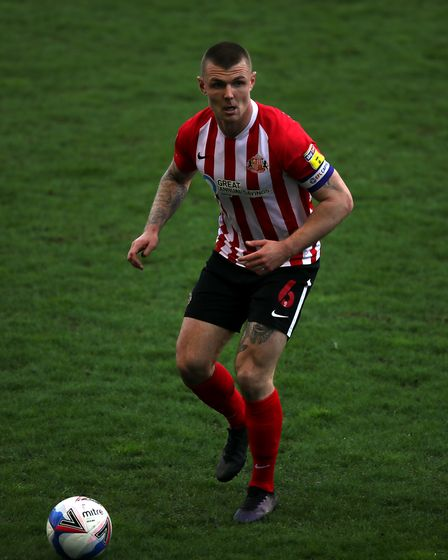 Sunderland's Max Power in action during the Sky Bet League One match at the DW Stadium, Wigan. Pictu