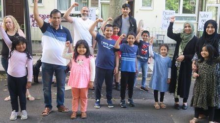 Some of the children whose families have been on 'decamp status' all their lives.